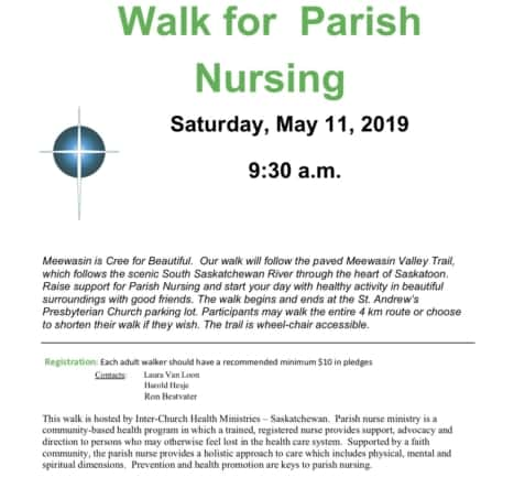 2019 Walkathon Poster