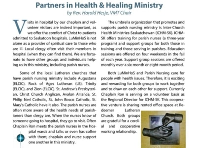 Caregiver Article